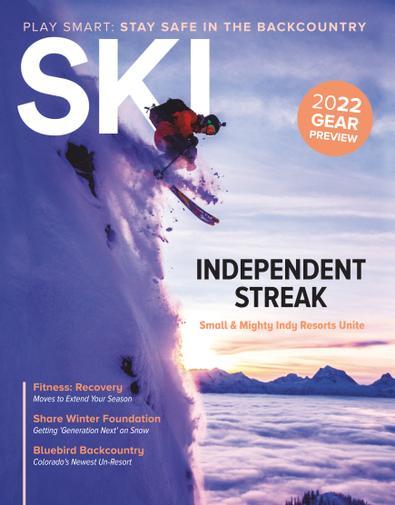 Ski Magazine digital cover