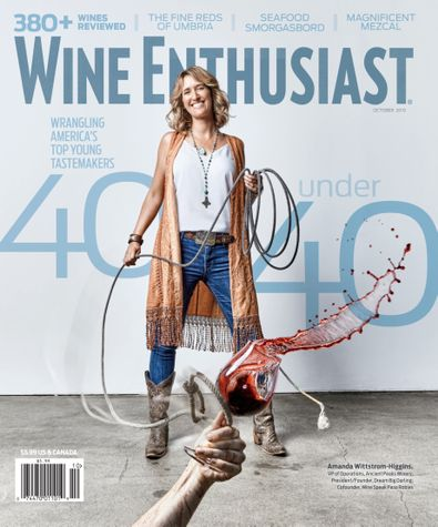 Wine Enthusiast Magazine digital cover