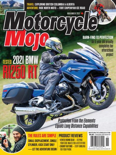 Motorcycle Mojo Magazine digital cover