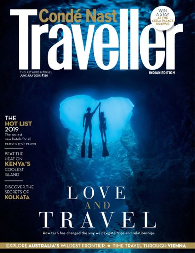 Conde Nast Traveller India digital cover