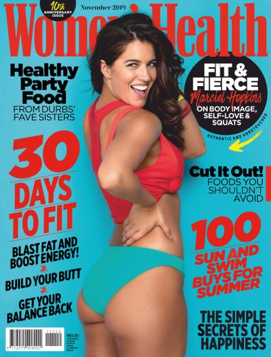 Women's Health South Africa digital cover