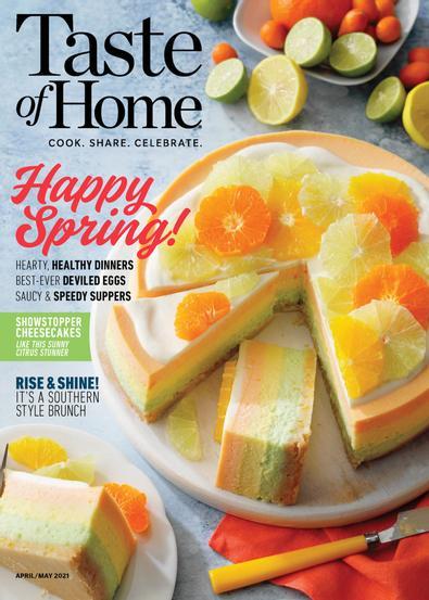 Taste of Home digital cover