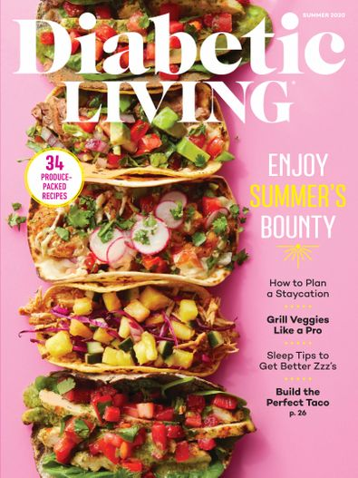 Diabetic Living digital cover