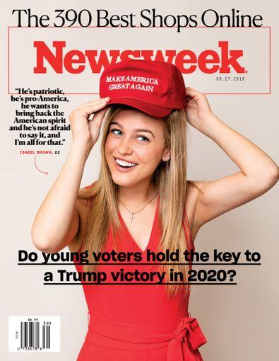 Newsweek digital cover