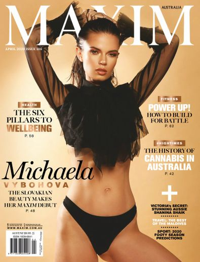 Maxim Australia digital cover