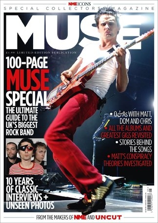 NME Icons: Muse digital cover