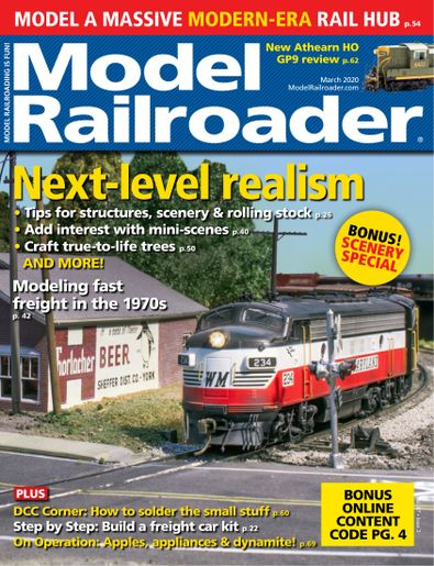 Model Railroader digital cover