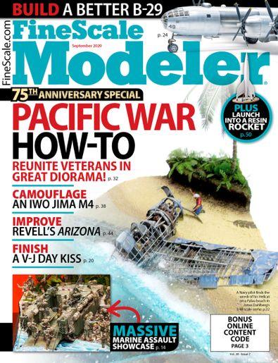 FineScale Modeler digital cover