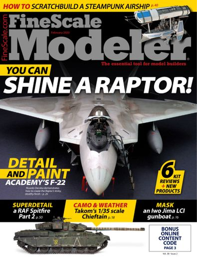 FineScale Modeler digital cover