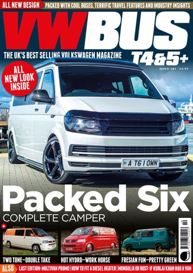 VW Bus T4&5+ digital cover