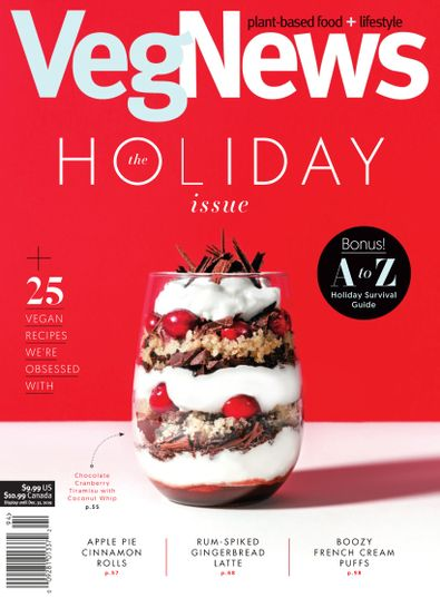VegNews Magazine digital cover