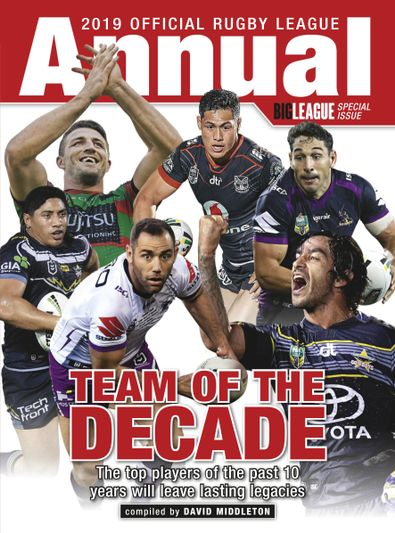 Official Rugby League Annual digital cover