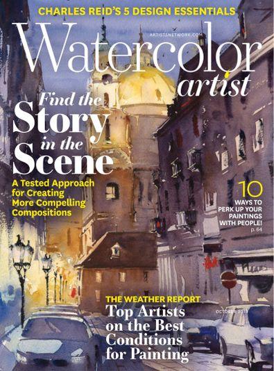 Watercolor Artist digital cover