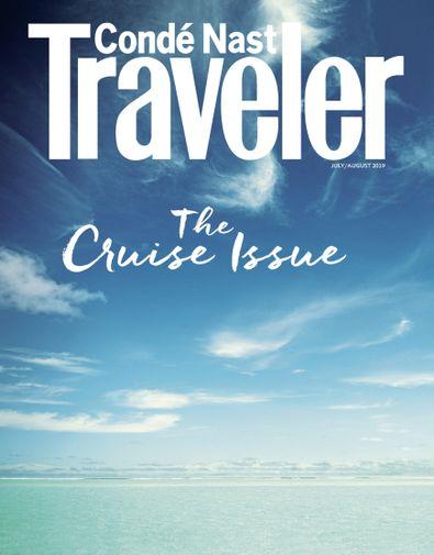 Conde Nast Traveler digital cover