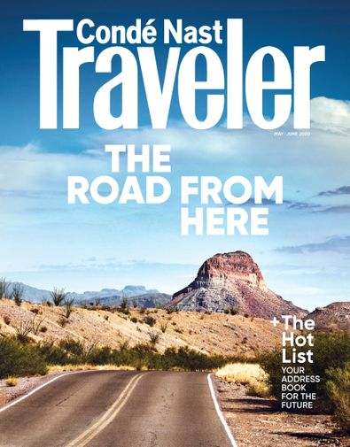 Conde Nast Traveler digital cover