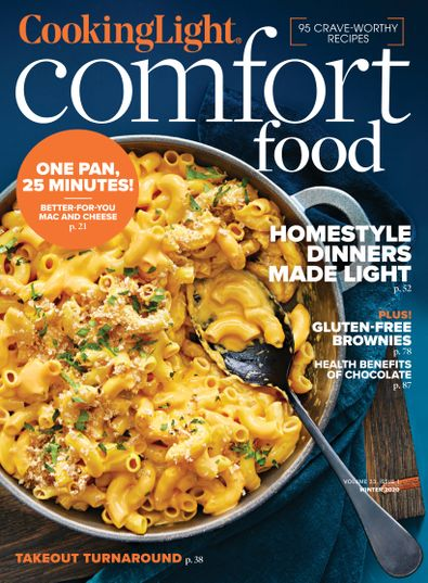 Cooking Light digital cover