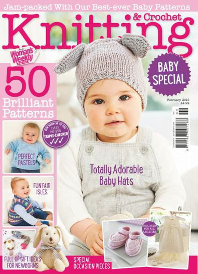Knitting & Crochet from Woman's Weekly digital cover