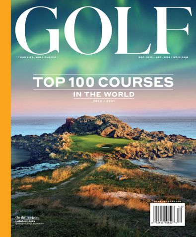 Golf Magazine digital cover