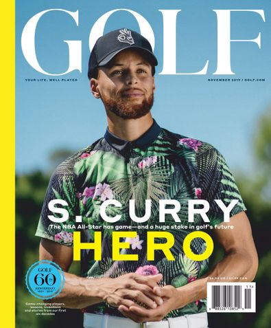 Golf Magazine digital cover