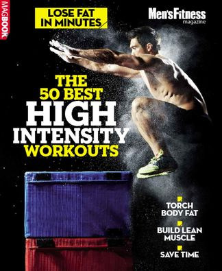 Men's Fitness The 50 best high intensity workouts digital cover