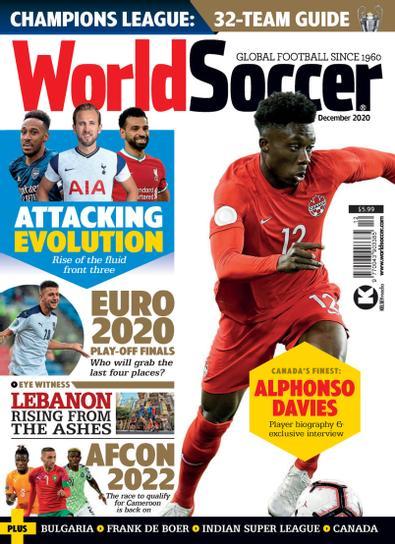 World Soccer digital cover