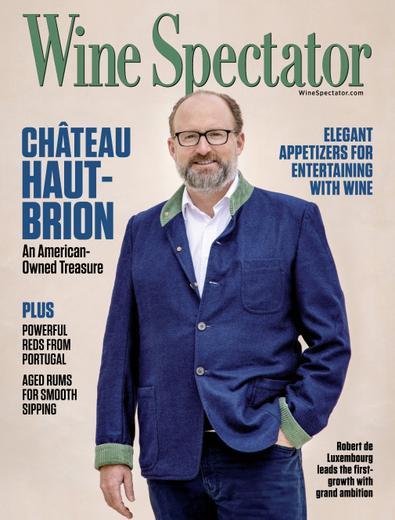 Wine Spectator digital cover