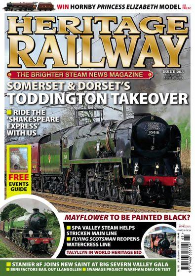 Heritage Railway digital cover