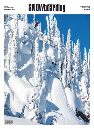 Transworld Snowboarding digital cover