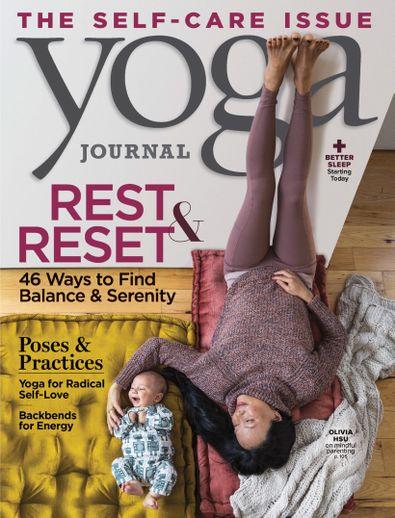 Yoga Journal digital cover