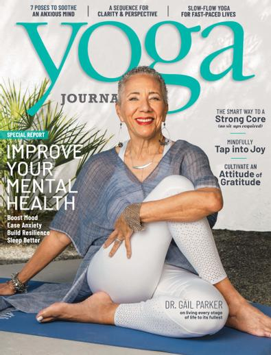 Yoga Journal digital cover