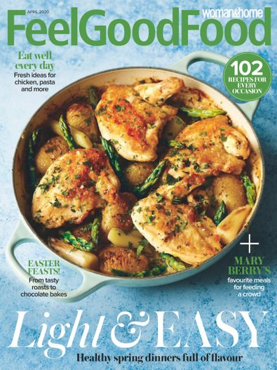 Woman & Home Feel Good Food digital cover