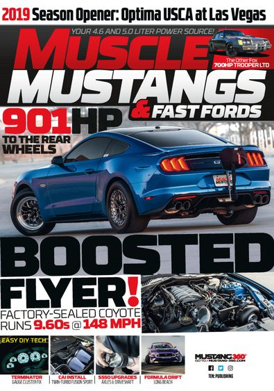 Muscle Mustangs & Fast Fords digital cover