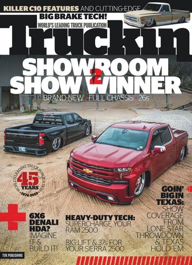 Truckin digital cover