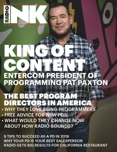 Radio Ink Magazine digital cover