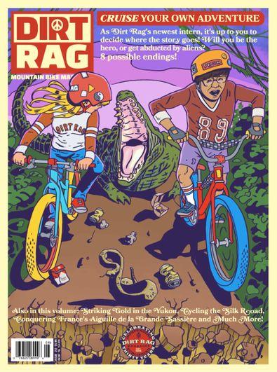 Dirt Rag Magazine digital cover