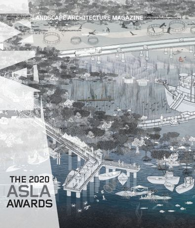 Landscape Architecture Magazine digital cover