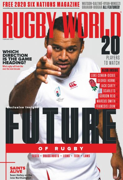 Rugby World digital cover