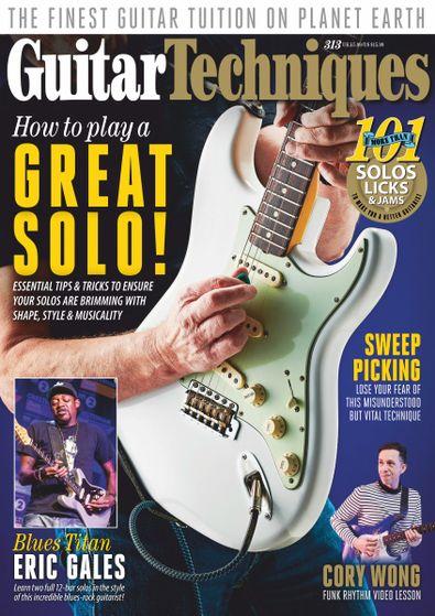 Guitar Techniques digital cover