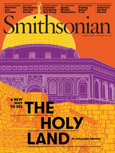 Smithsonian Magazine digital cover