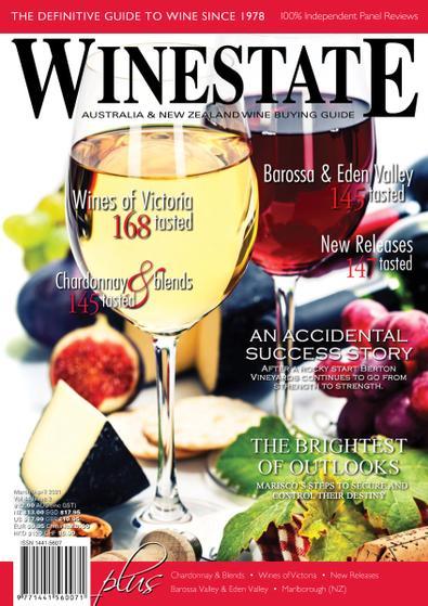 Winestate Magazine digital cover