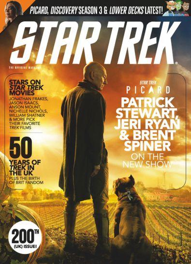 Star Trek Magazine digital cover