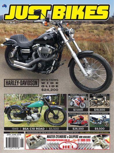 Just Bikes digital cover