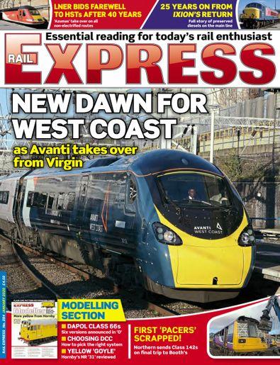 Rail Express digital cover