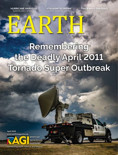EARTH Magazine digital cover