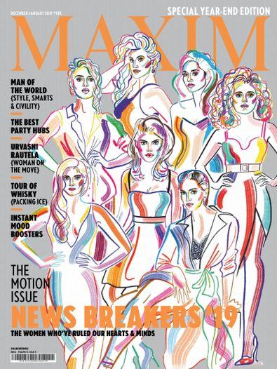 Maxim India digital cover
