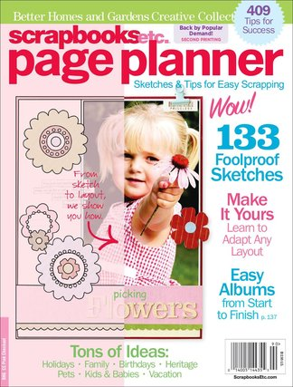 Scrapbooks Etc. Page Planner digital cover