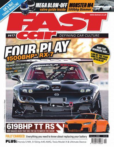 Fast Car digital cover