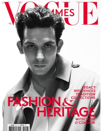 Vogue hommes English Version digital cover