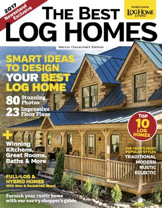 Log Home Living: Annual Buyers Guide digital cover