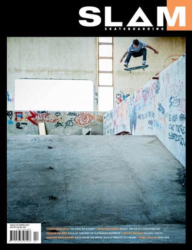 Slam Skateboarding digital cover